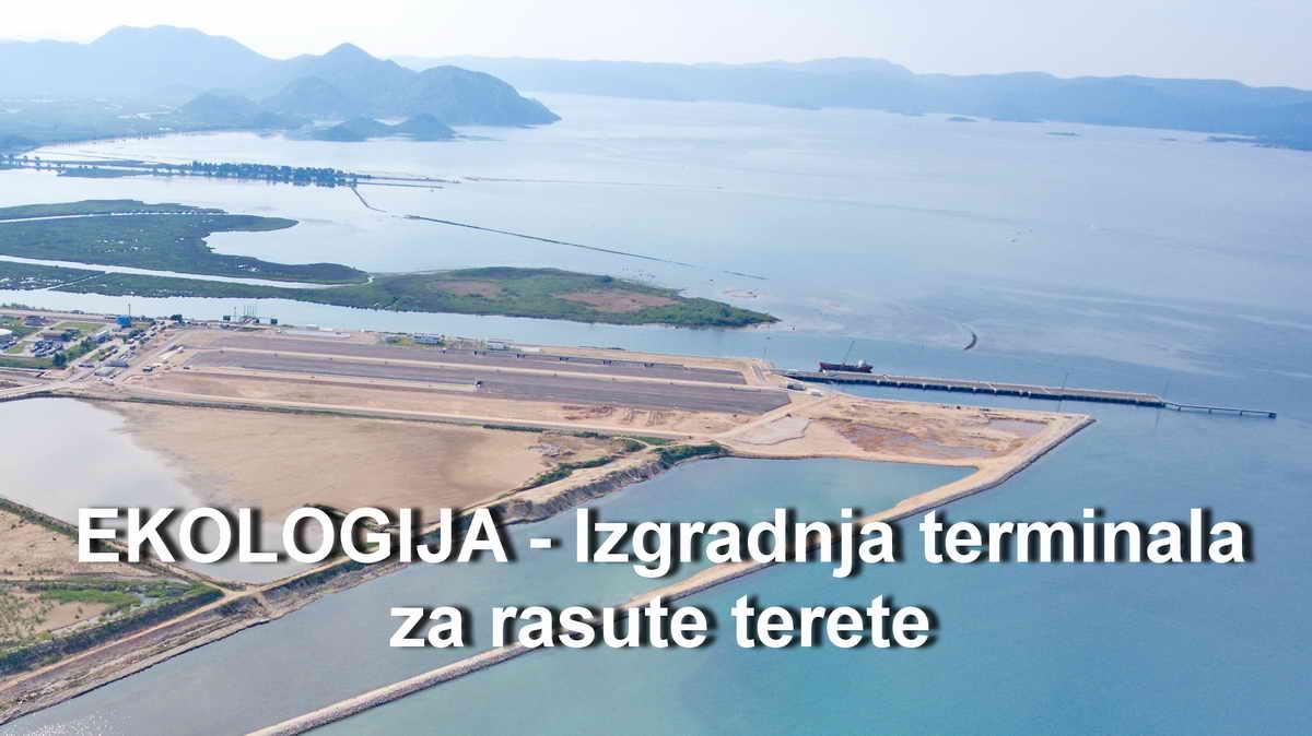 EKOLOGIJA - izgradnja terminala za rasute terete